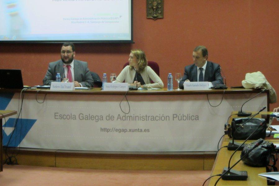 Apertura da xornada sobre Contratación pública das administracións locais